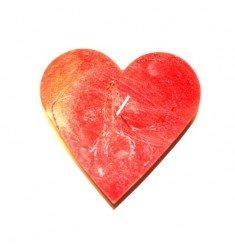 Bougie Déco Coeur