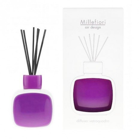 Diffuseur Vetroquadro Blanc/Violet