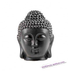 Brûle parfum Tête de Buddha Thaï - Noir ou Blanc