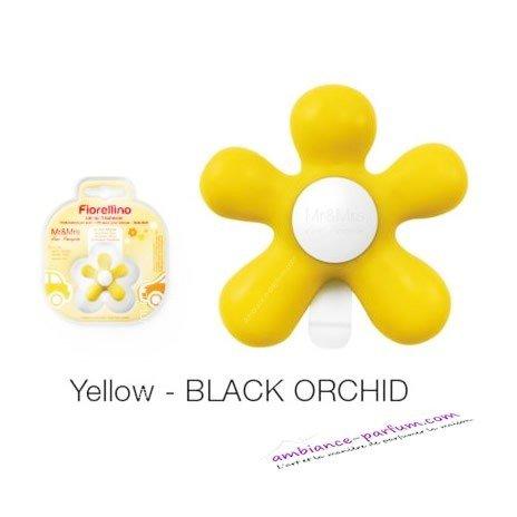 Diffuseur Fiorellino Jaune - Black Orchidée