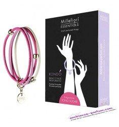 Bracelets parfumés Millefiori Milano - Sucre Glace