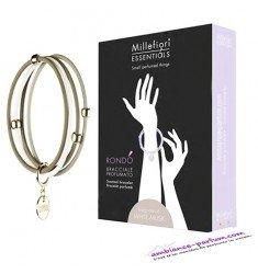 Bracelets parfumés Millefiori Milano - Musc Blanc