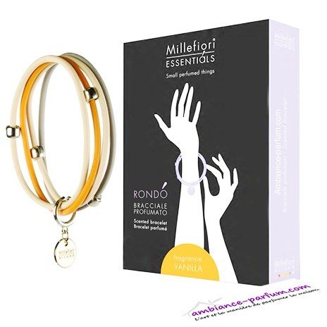 Bracelets parfumés Millefiori Milano - Vanille
