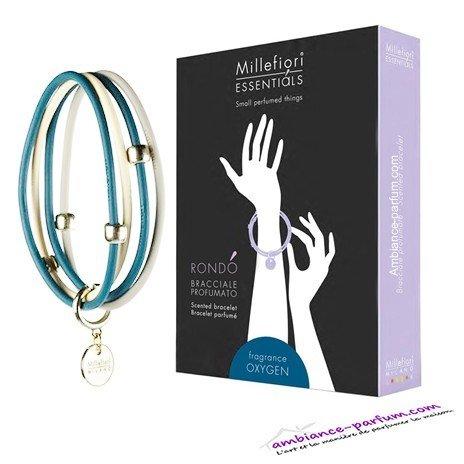 Bracelets parfumés Millefiori Milano - Oxygène