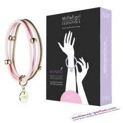 Bracelets parfumés Millefiori Milano - Rose