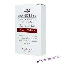 Eau de Toilette Mandelys - Epices Boisées