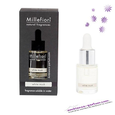 Parfum Soluble Millefiori Milano - Musk Blanc