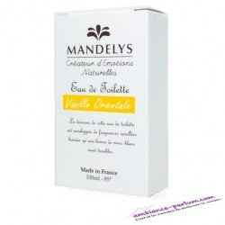 Eau de Toilette Mandelys - Vanille Orientale
