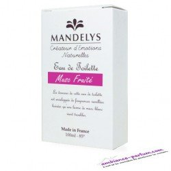 Eau de Toilette Mandelys - Musc Fruité