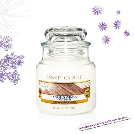 Bougie Parfumée Yankee Candle - Angels Wings
