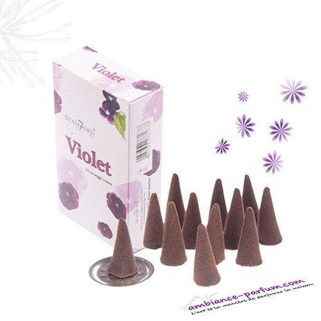 Cônes d'encens - Violette