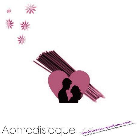 Bâtons d'encens GALÉO x 10 - Aphrodisiaque