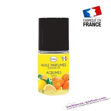 Huile parfumée Agrumes