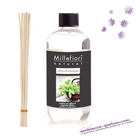 Recharge Millefiori Milano - White Mint & Tonka