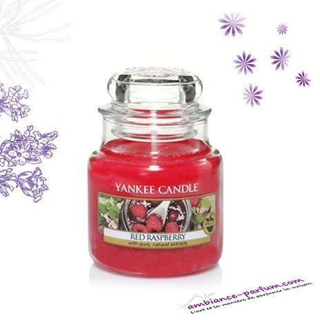 bougie yankee candle red raspberry. Black Bedroom Furniture Sets. Home Design Ideas