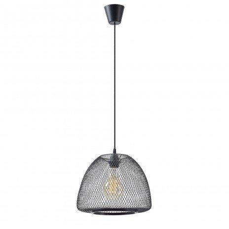 Lampe suspension métal noir DESIRE