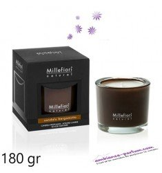 Bougie Millefiori Santal Bergamote