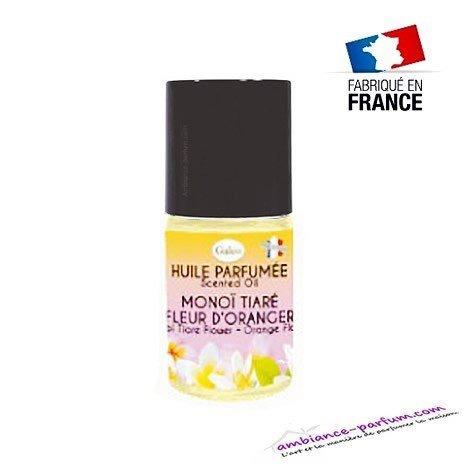 Huile parfumée Monoi Tiaré - Fleur d'Oranger
