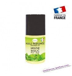 Huile parfumée Menthe Basilic