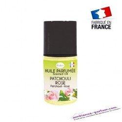 Huile parfumée Patchouli - Rose