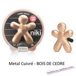 Diffuseur Niki Cuivré - Bois de cèdre