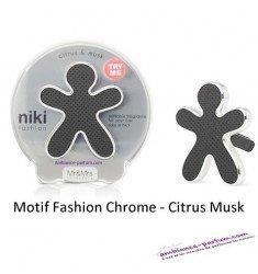 Diffuseur Niki Fashion SPORT Noir - Citrus Musc