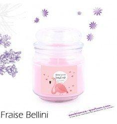 Bougie parfumée Luxe - Fraise Bellini