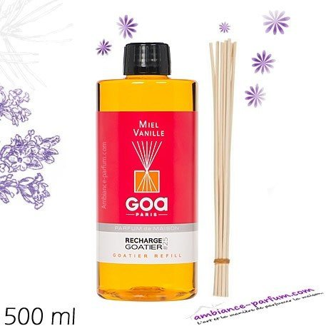 Recharge GOA 500 ml - Miel Vanille