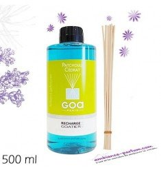 Recharge GOA 500 ml - Patchouli Cédrat