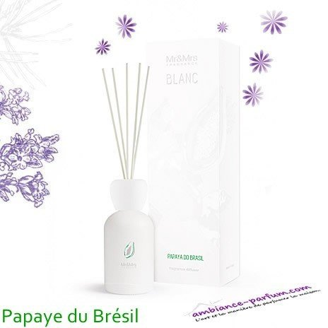 Diffuseur Blanc Mr & Mrs Fragrance - Papaye du Brésil