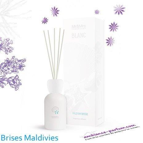 Diffuseur Blanc Mr & Mrs Fragrance - Brise Maldives