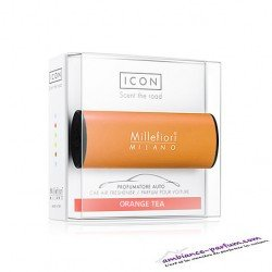 Diffuseur Voiture - Millefiori Icon - Orange Tea